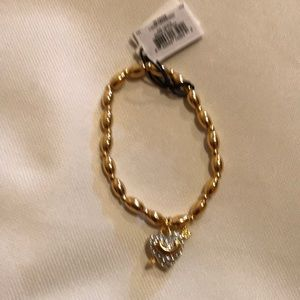 Juicy Couture Gold Stretch Gold Bracelet